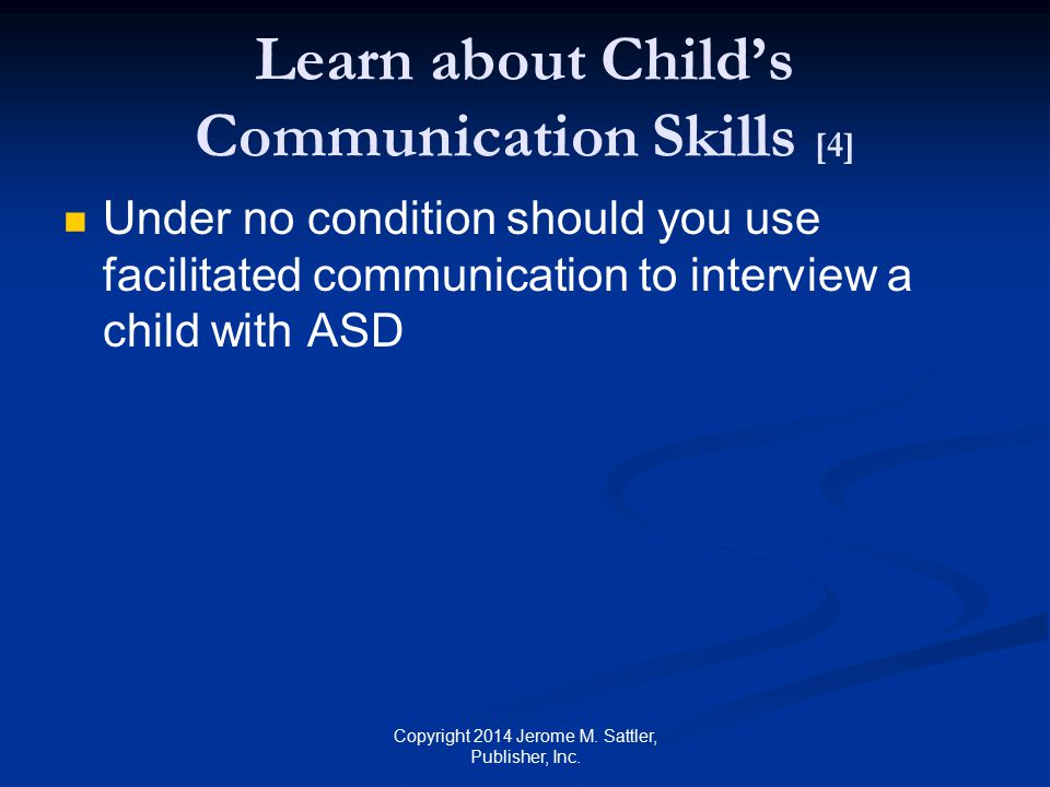 Learn about Child's Communication Skills [4]